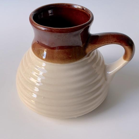 Vintage Minimalist Boho Ceramic Coffee / Tea Mug
